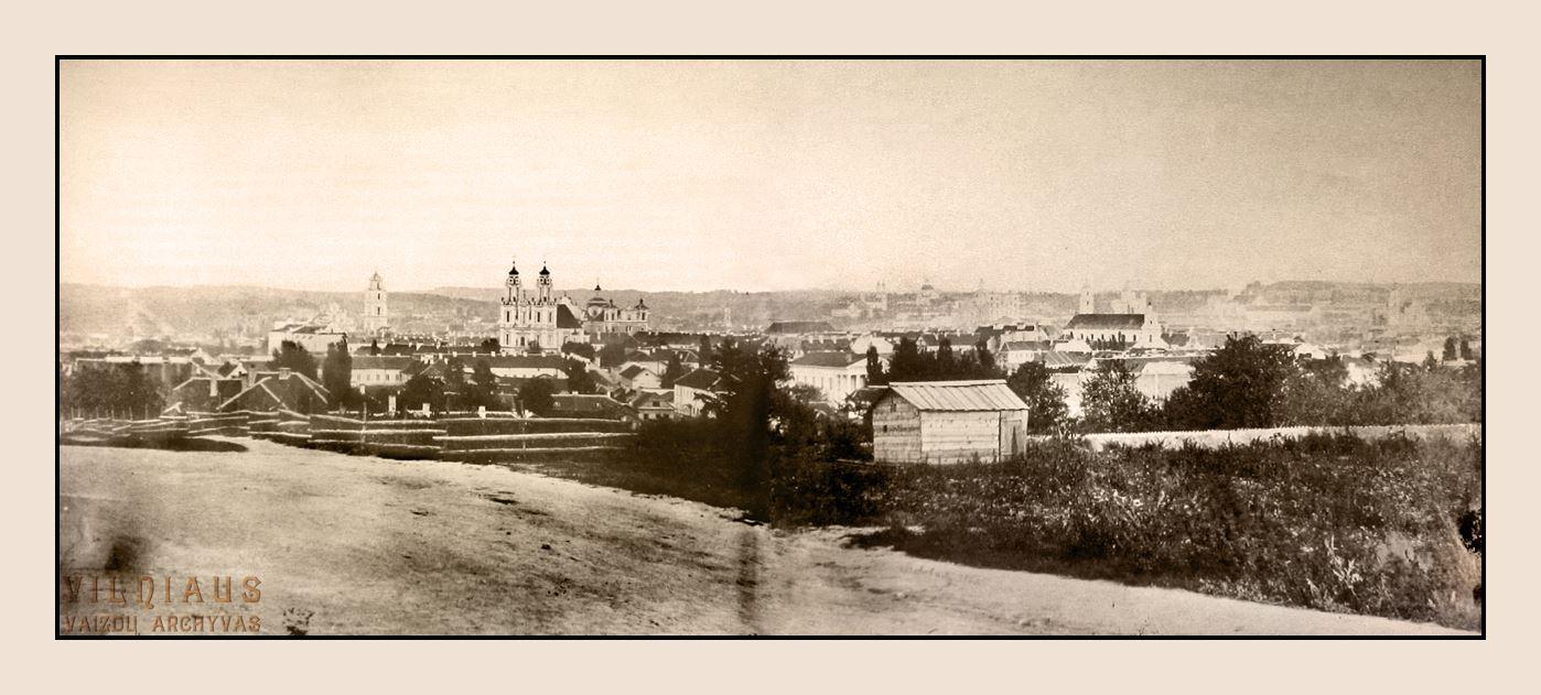 Панорама города, 1861