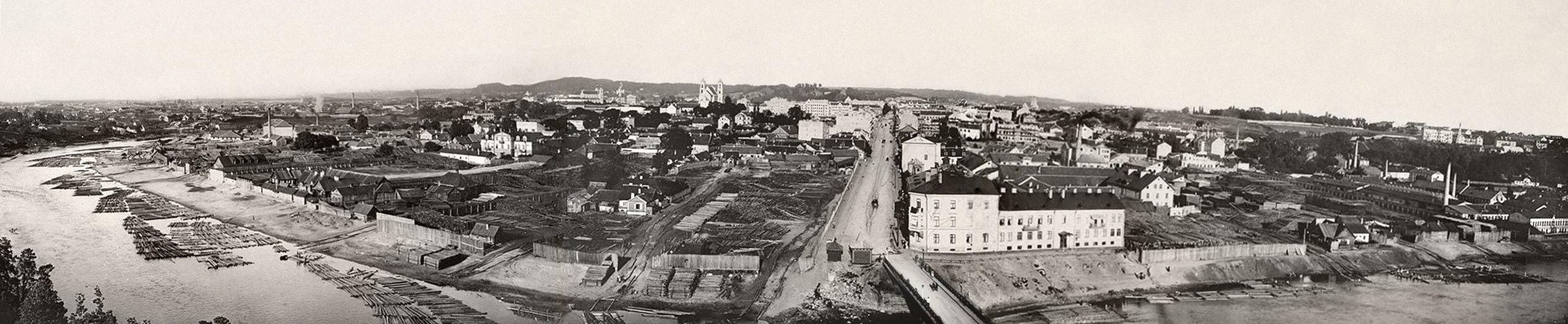Панорама от Жверинской Знаменской церкви
