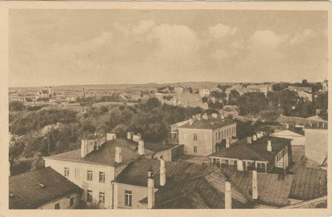 Панорама северной части города.
