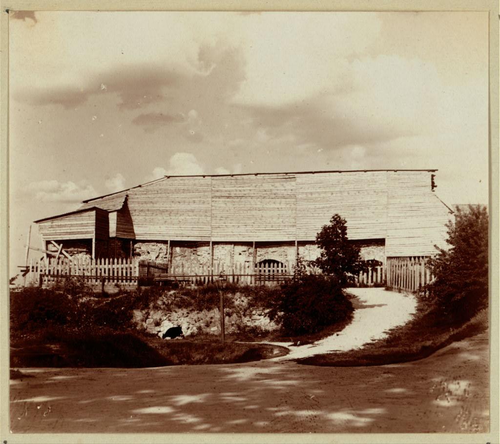 Развалины замка князя Гедемина на Замковой горе. 1912