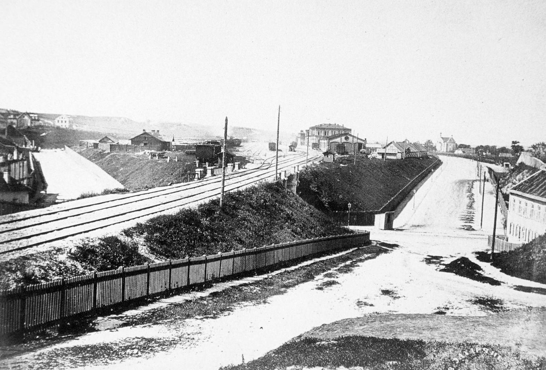 Санкт-Петербург-Варшавская железная дорога. 1866