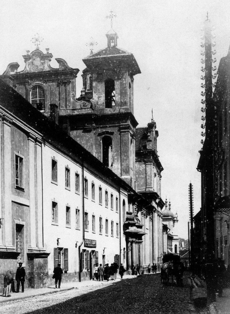 Костёл Святого Духа. 1895