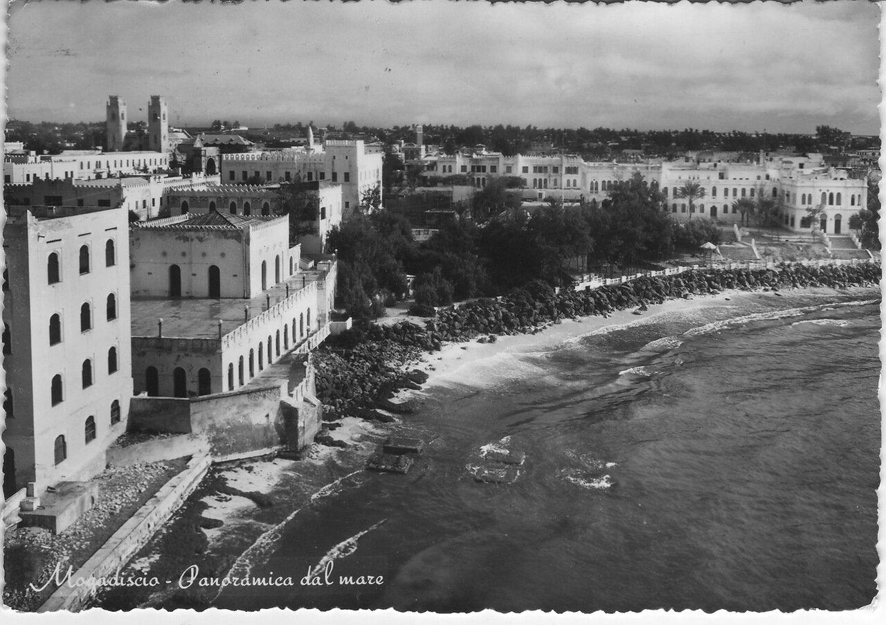 1950-е. Вид с моря