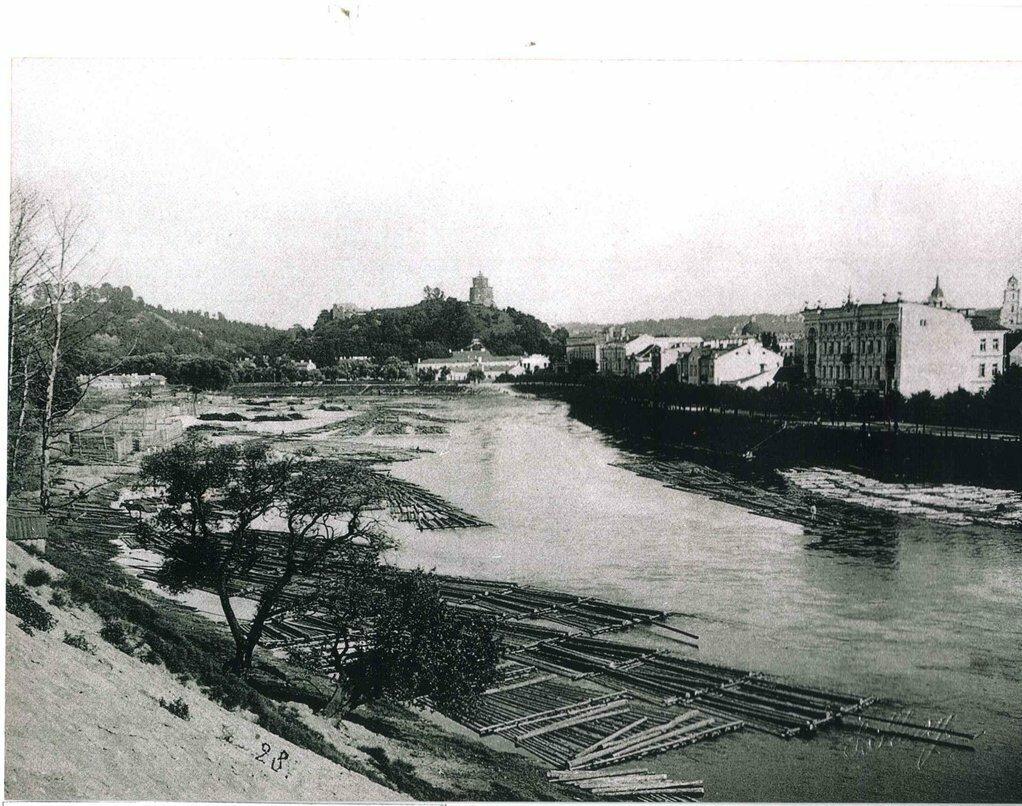 Замковая гора. 1870