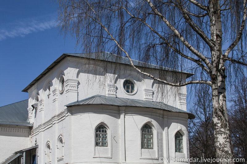 Церковь Воскресения Христова. Спасо-Преображенский монастырь. Ярославль.