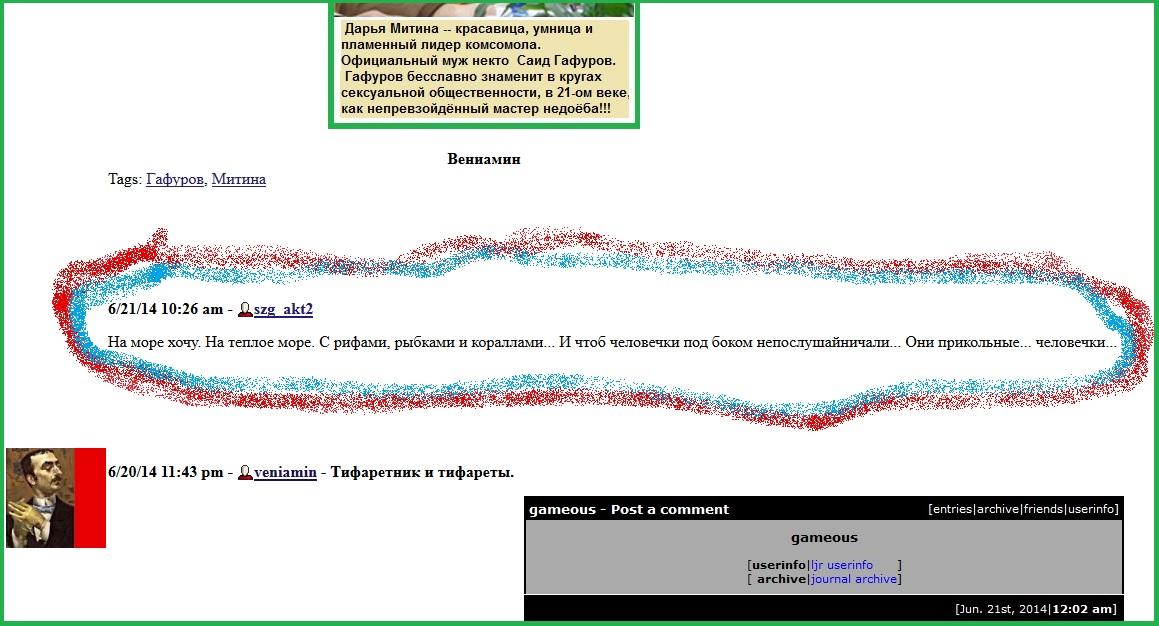 Гафуров, Митина