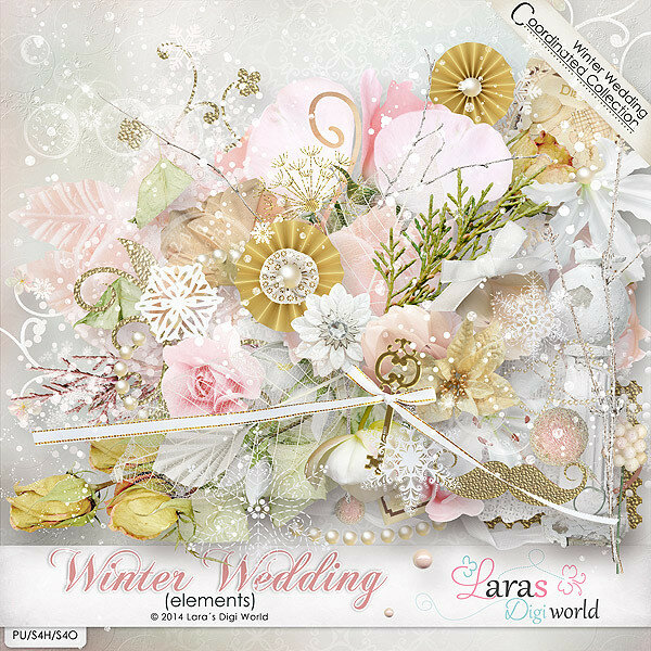 Coordinating Collection: Winter Wedding