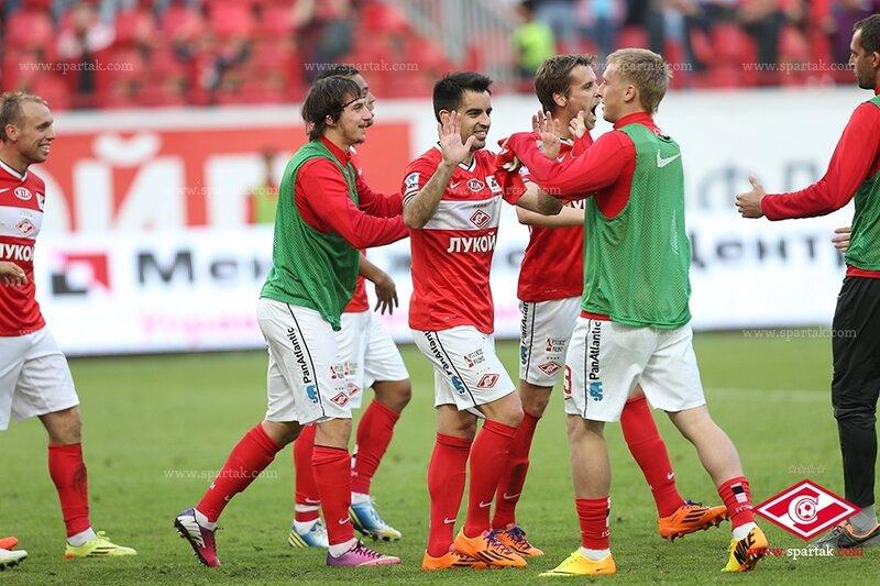 «Спартак» одержал волевую победу над «Динамо»