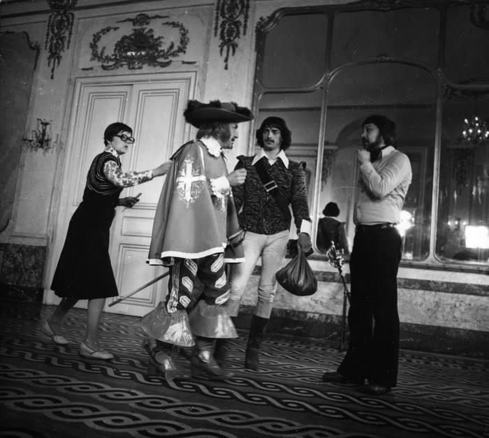 Д'Артаньян и все-все-все мушкетёры. Уникальные кадры со съёмок. (Фото)