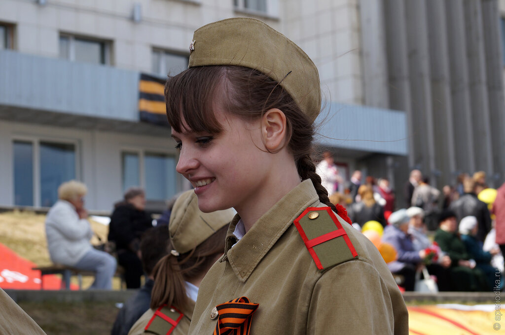 День Победы в Златоусте. Праздничные гуляния