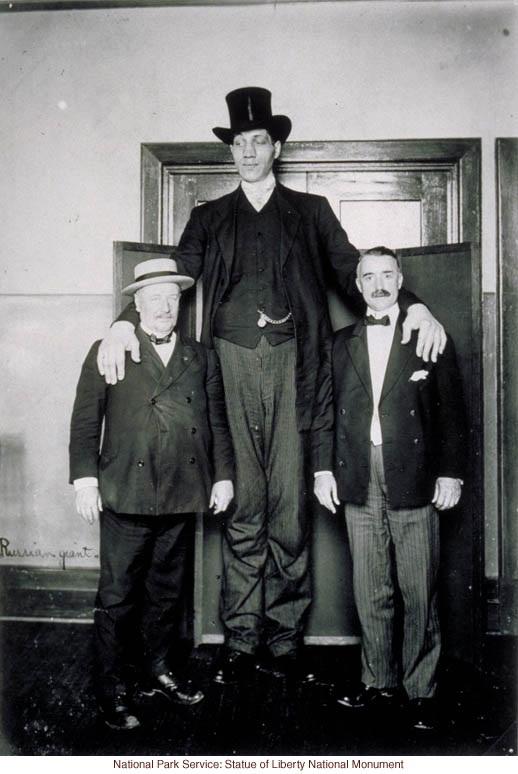 Самый высокий человек в мире жил в Российской Империи?