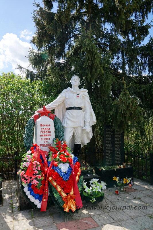 Памятник на братской могиле воинов РККА, д.Капань