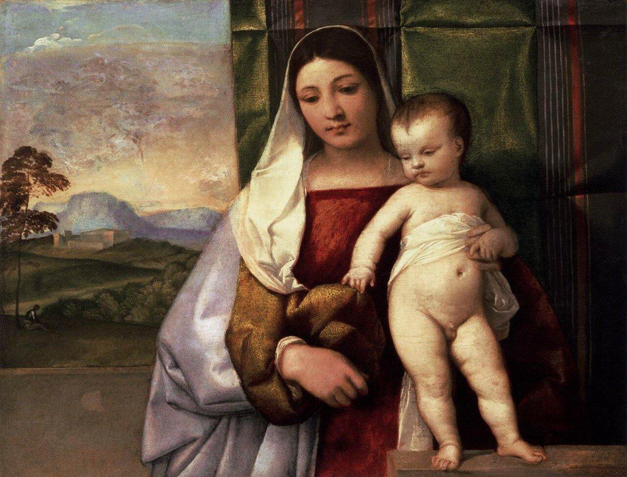 Мадонна с младенцем («Цыганская Мадонна»)
