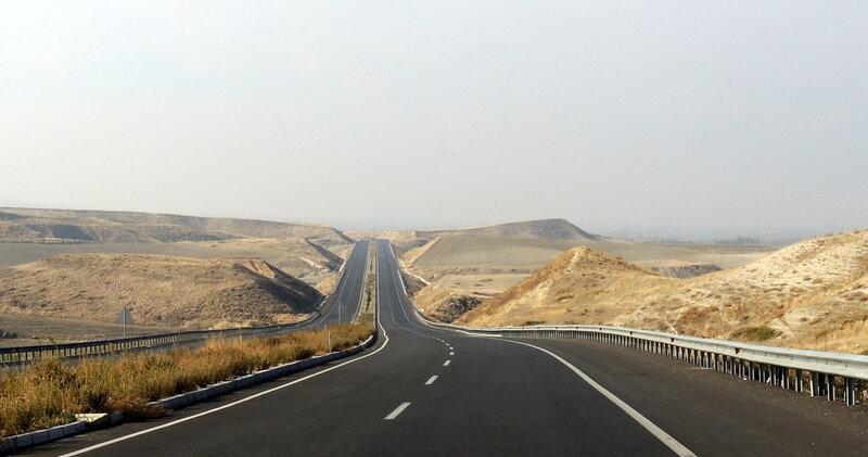 дорога из Памуккале