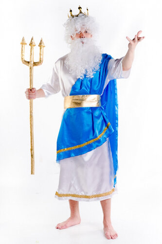 Мужской карнавальный костюм Нептун