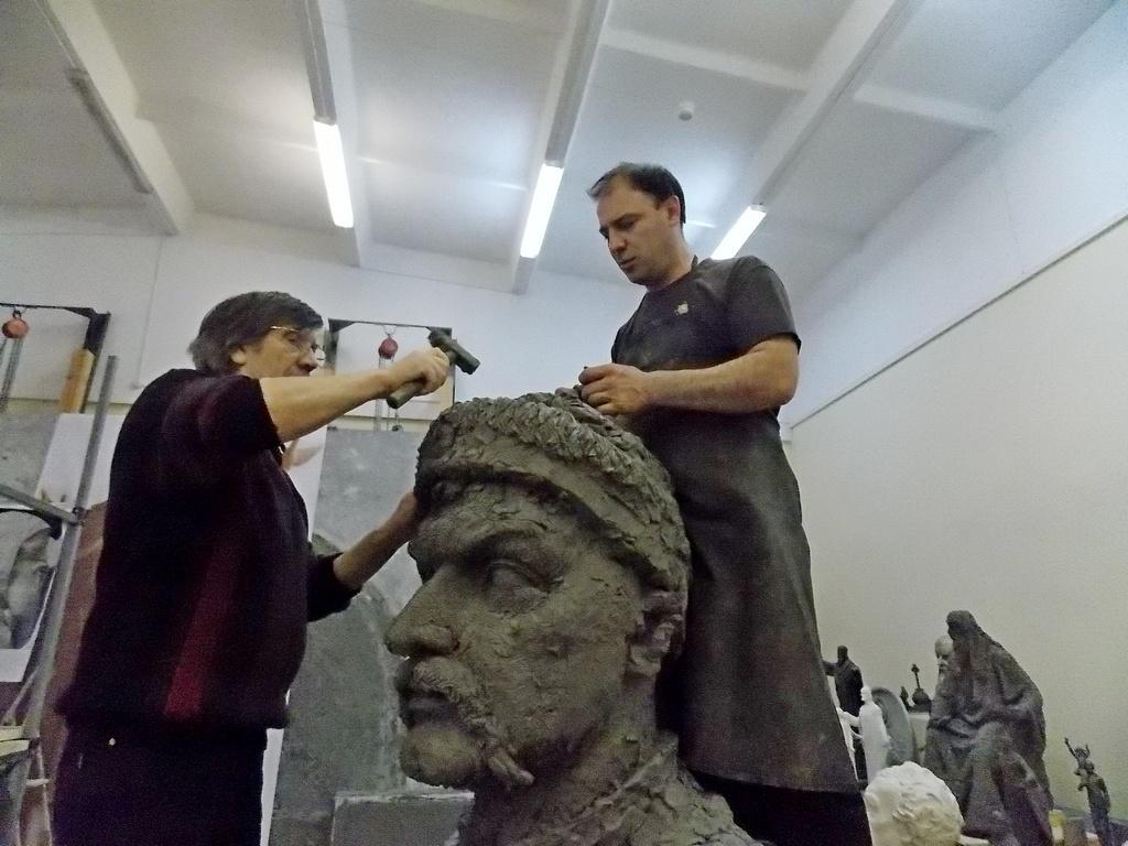 В златоустовском «ЛиКе» создают образы Сергия Радонежского, Богдана Хмельницкого, святой Веры и другие