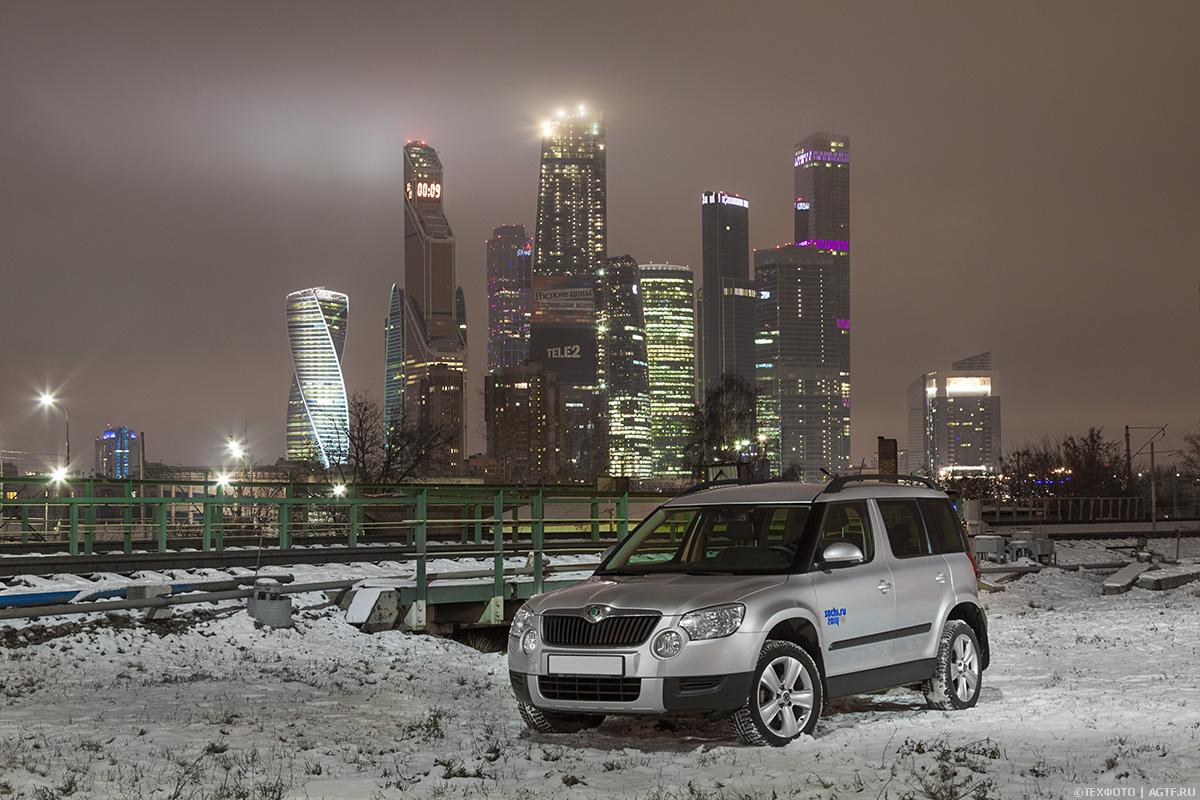 Ночные фотографии автомобилей