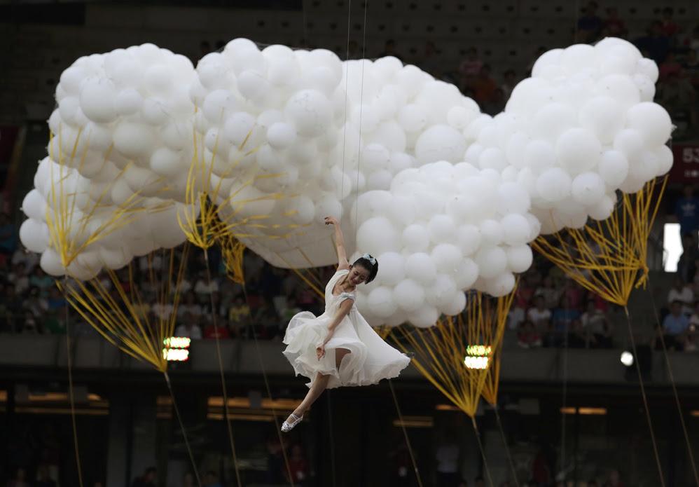 Красивые фотографии открытия XV чемпионата легкой атлетики в Пекине 0 13ff4e b15936bd orig