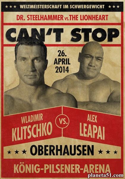 Бокс: Владимир Кличко - Алекс Леапаи / Wladimir Klitschko vs Alex Leapai (2014/SATRip)