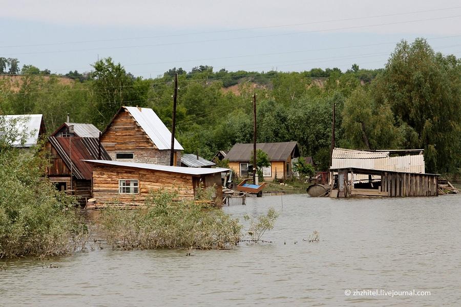 Наводнение на Оби