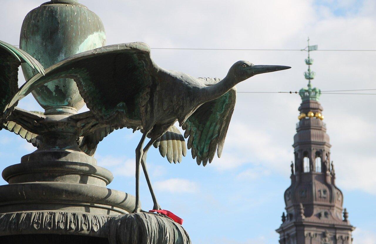 Копренгаген. Фонтан аистов (Storkespringvandet)