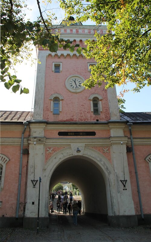 main portal. Хельсинки, крепость Суоменлинна, главные ворота