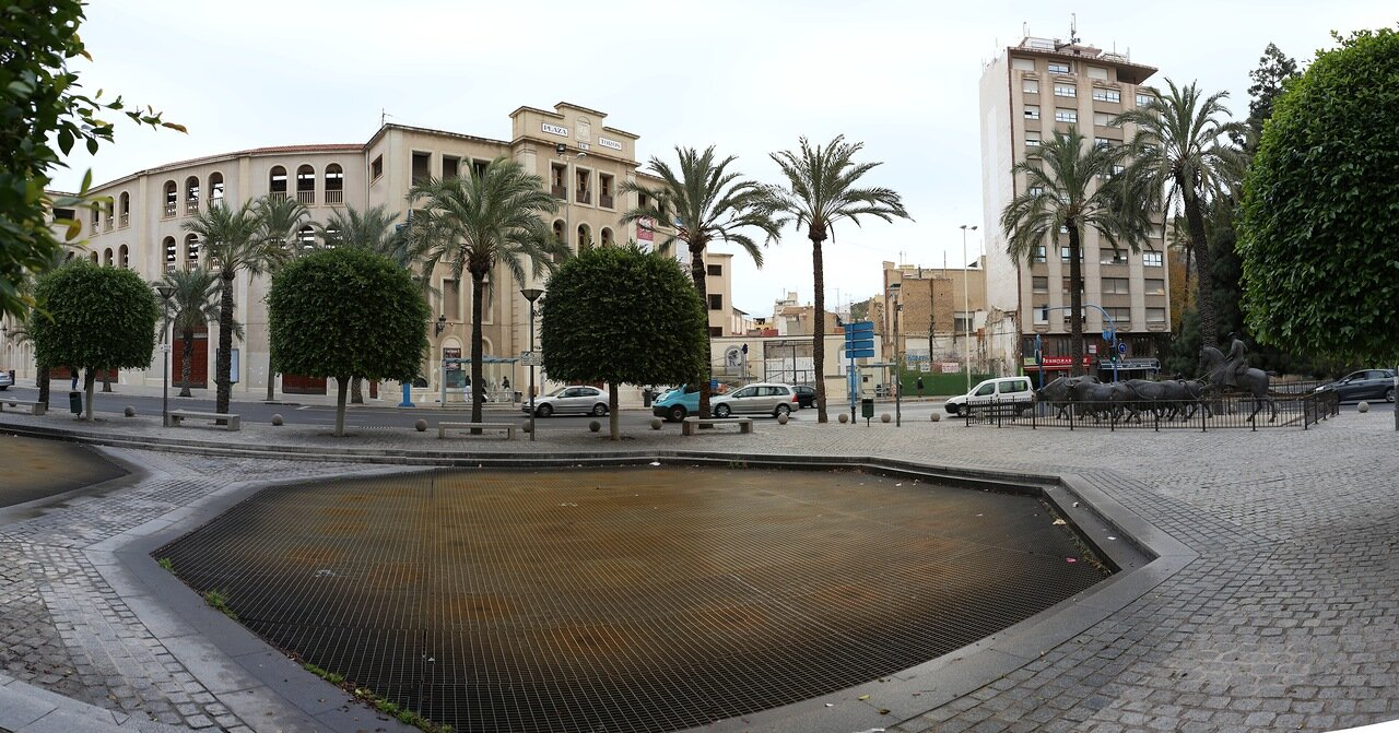 Аликанте. Площадь Испании (Plaza de España)