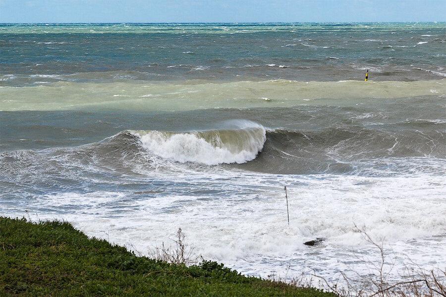 Анапа большая волна