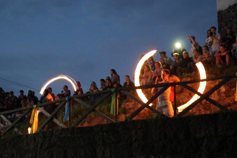 фаершоу на фестивале «Майское дерево 2014»