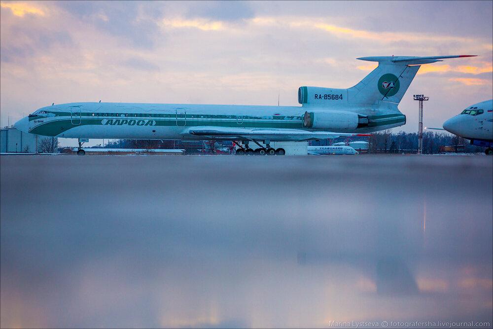 Споттинг в Домодедово 01.12.2013