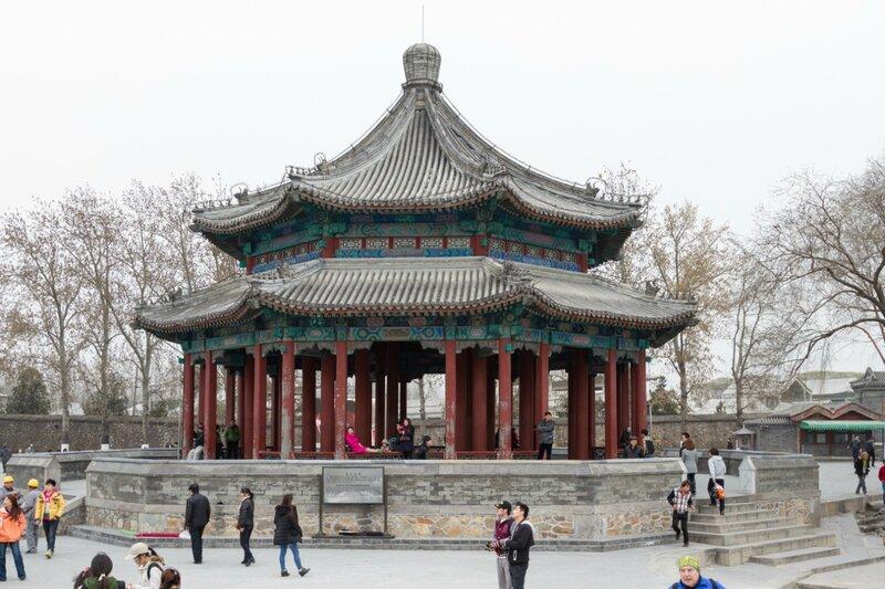 Павильон Кожу, парк Ихэюань