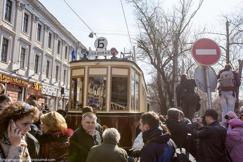 Парад трамваев 2014