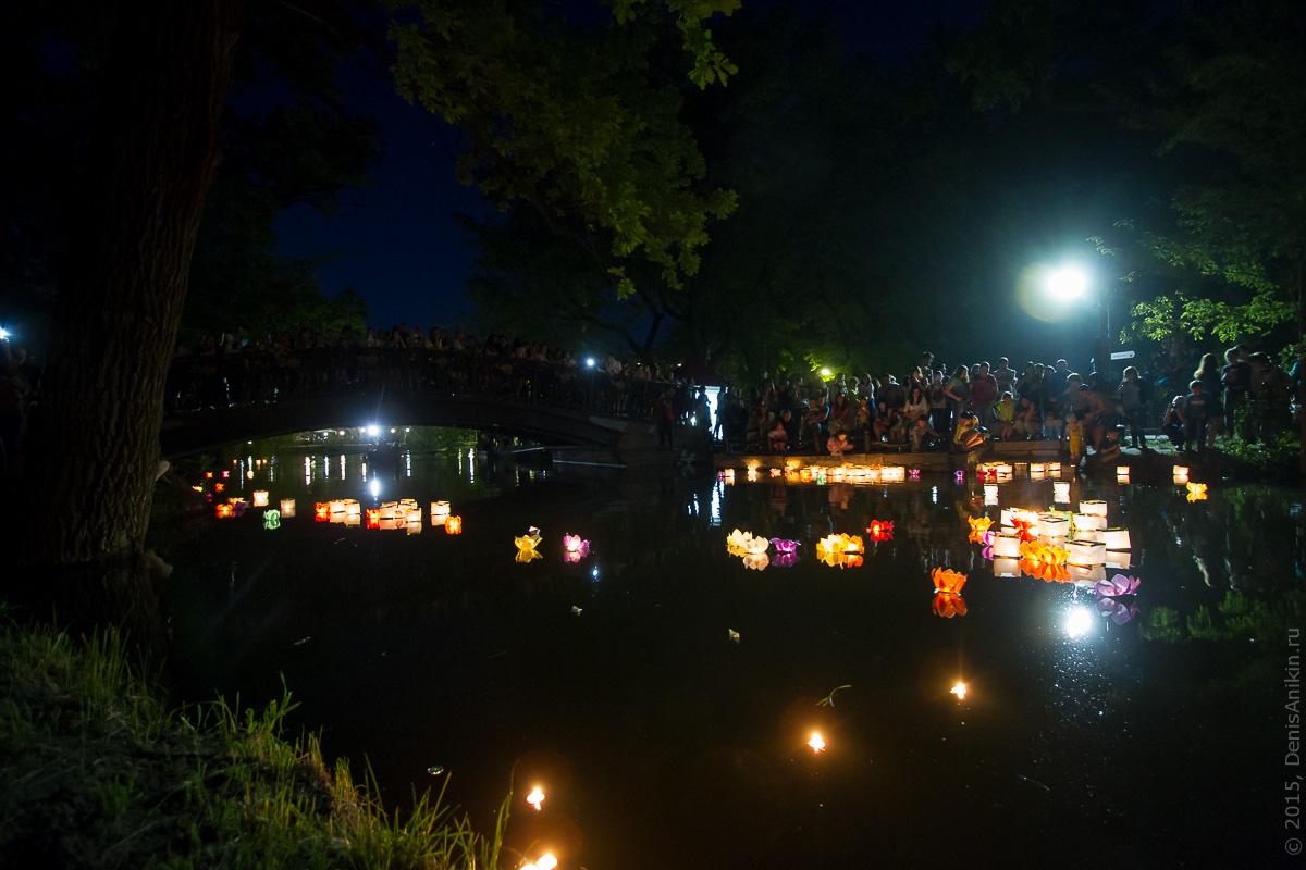 Фестиваль водных фонариков Саратов 7