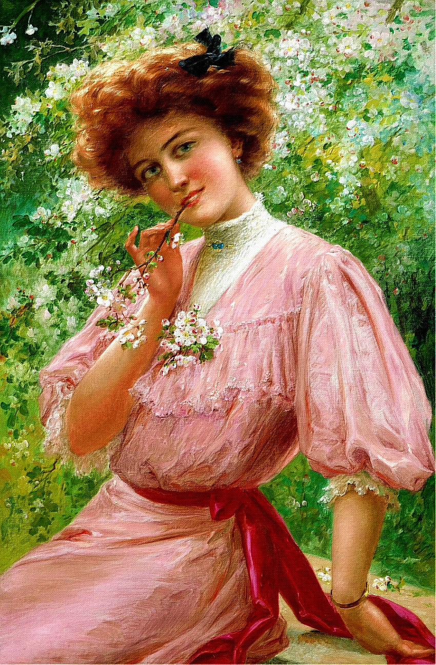 Женские образы Эмиля Вернона