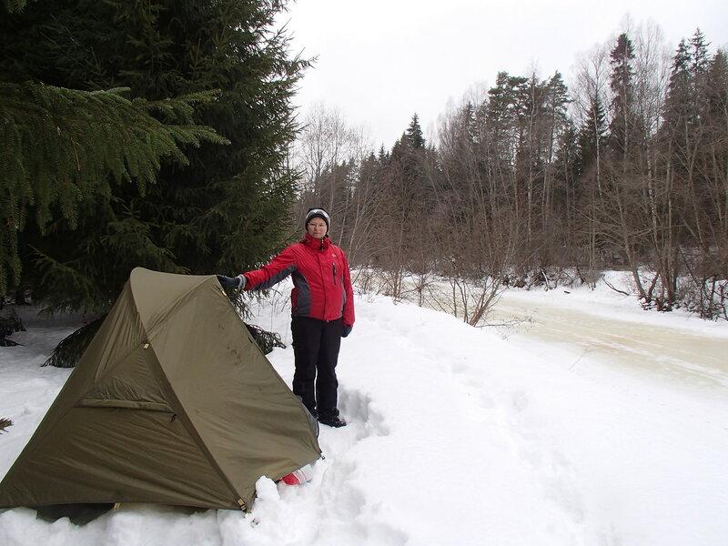 пеший поход с палаткой зимой беременной на седьмом месяце