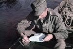 1942-07-21 Письмо, которое пришло из дома — в пустыне. 13.-21.7.1942 описан. Примечание: Vrikuvien Брошюра информации. Место: Печенга, реки Лутто
