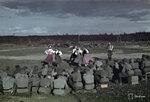 1943-01-01 Сортавала семинарии развлекательный тур. Syvri, электростанция на блоке в мае 1943 года. Примечание: Же развлекательное мероприятие для черно-белых фотографий-са-130937, от которого 130936 данных. Место: Syvri, блок электростанции