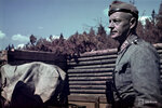 1943-01-01 Полковник S Syvrill в мае 1943 года. Примечание: Смотрите черно-белые изображения SA-ev-130933 осмотр, Snellman 130927 с информацией. Место: Syvri, блок электростанции