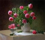С розами Автор Tatyana_SK