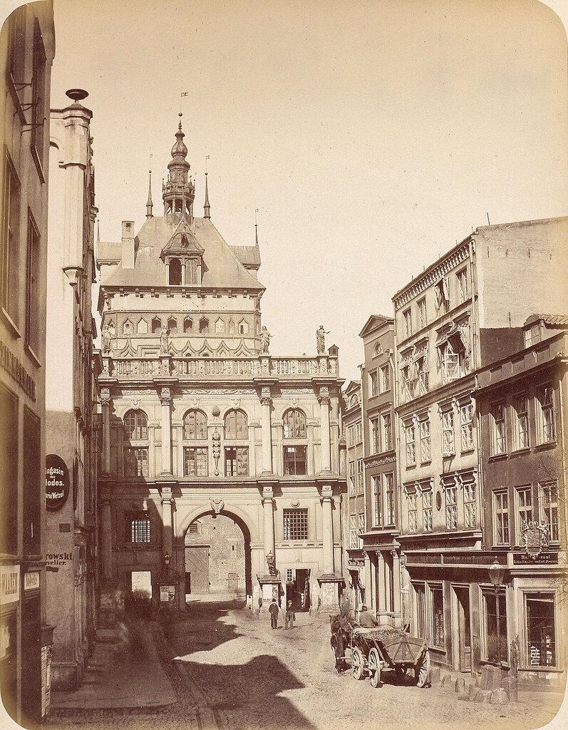 Данциг. Золотые ворота. 1865