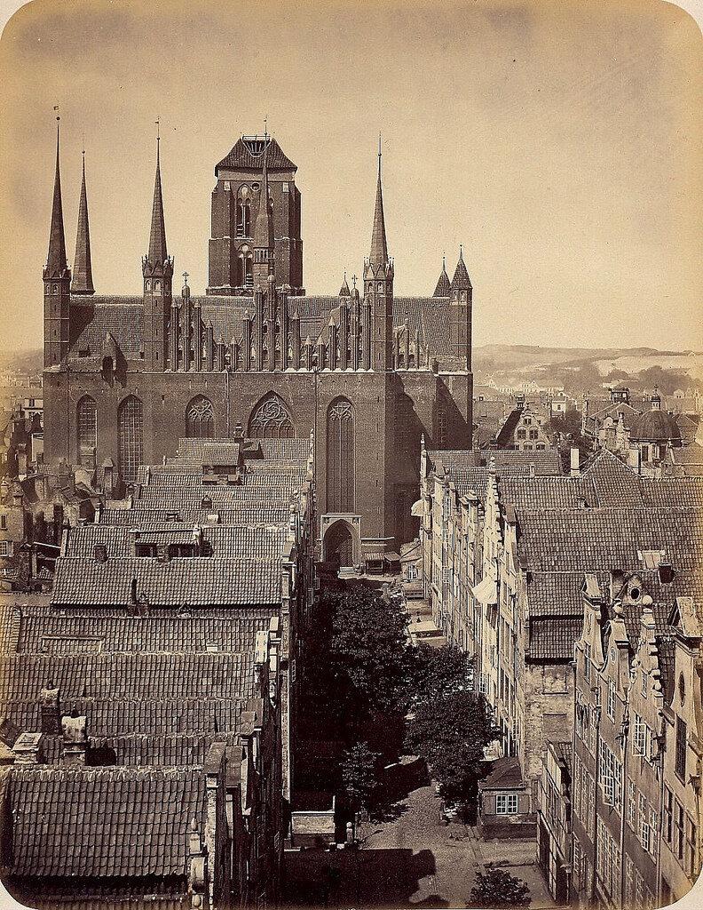 Данциг. Церковь Святой Марии. 1865