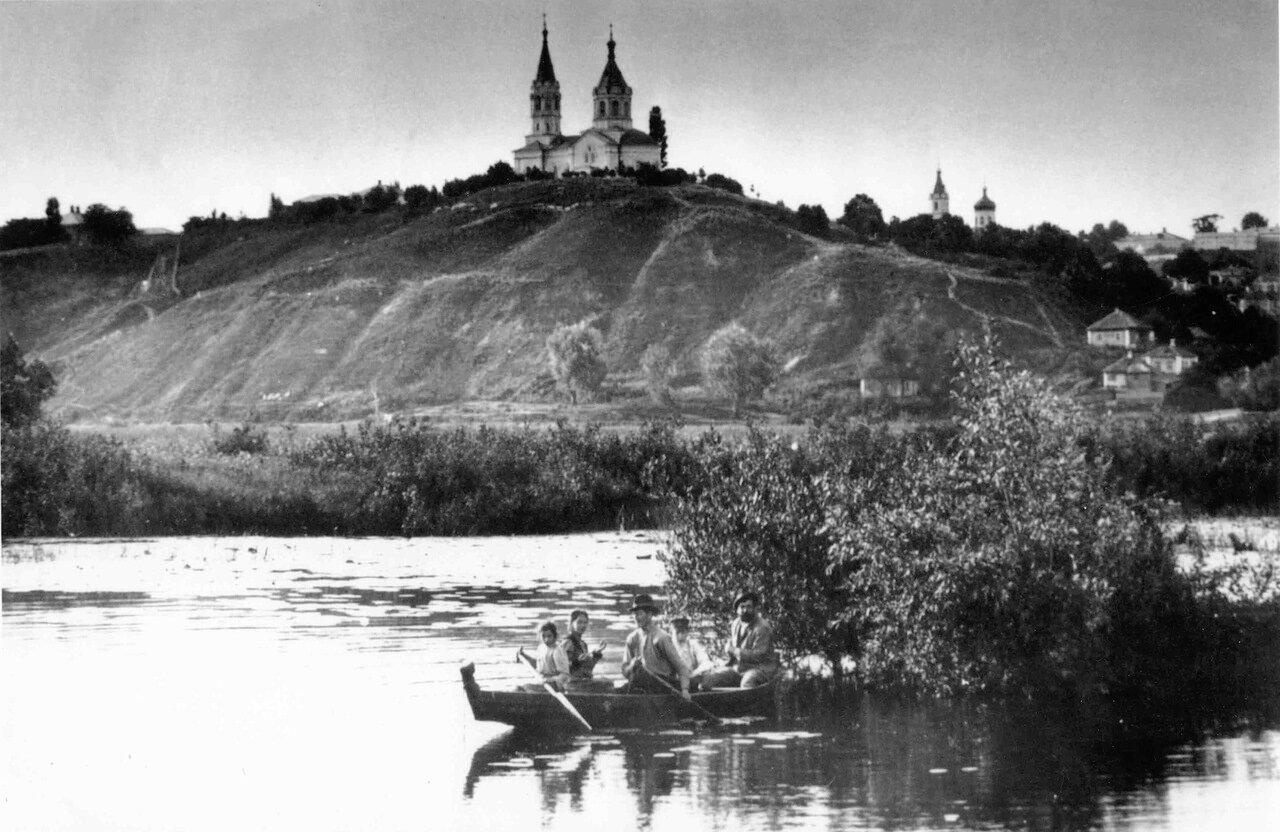 Вид на Никольскую церковь с р.Сейм