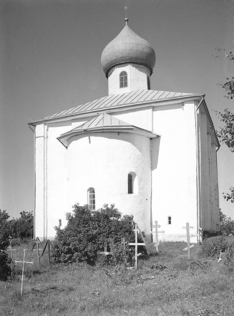 Церковь Благовещения на Городище. Общий вид