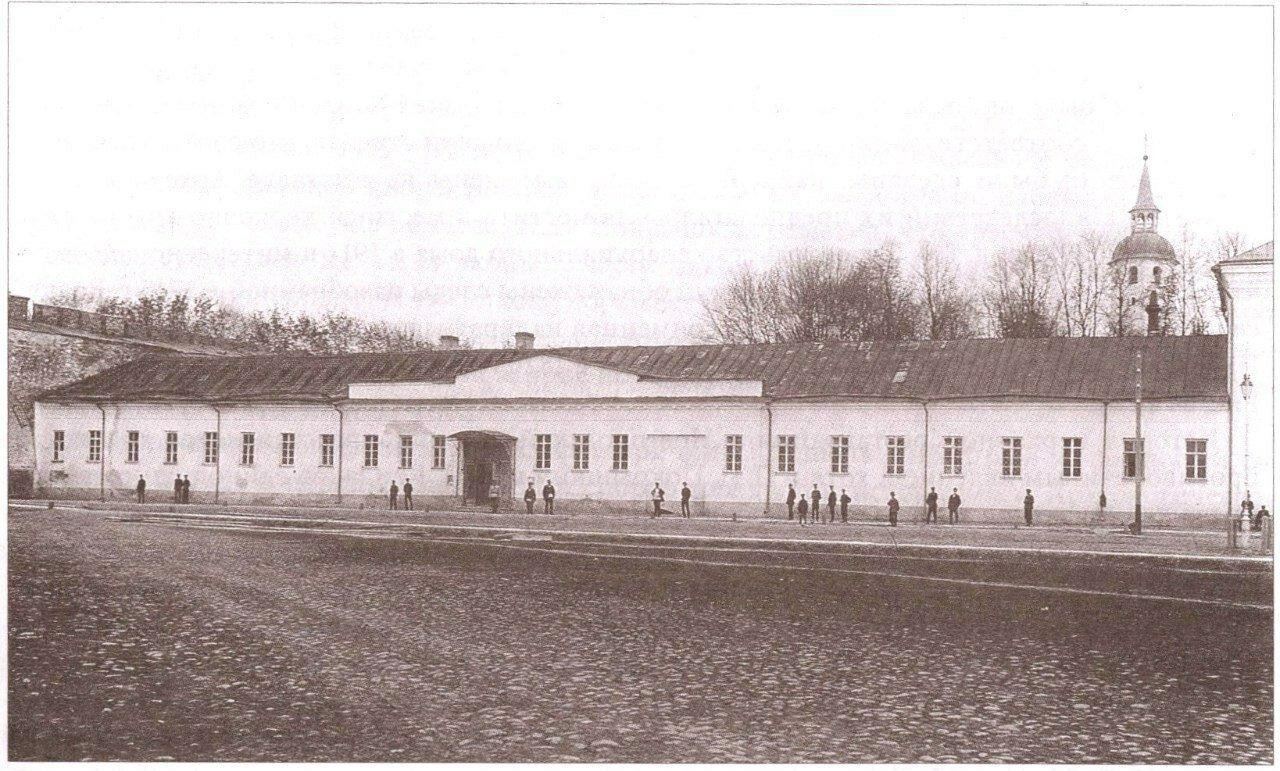 Здание Духовной консистории в Новгородском Кремле
