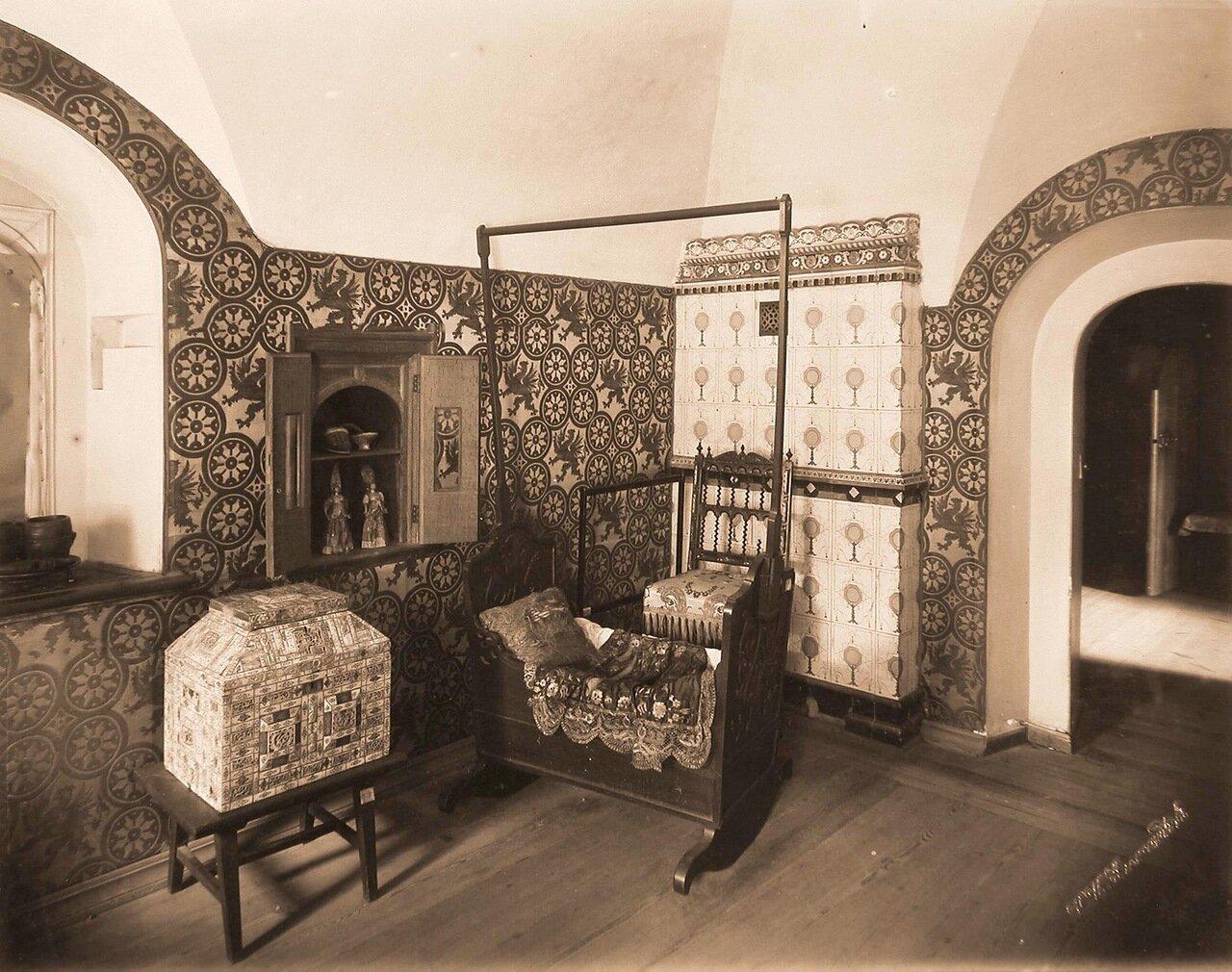 Интерьер детской комнаты в палатах бояр Романовых