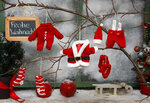 """Weihnachtsmotiv """"vor dem Fenster"""""""