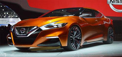 Nissan показал концепцию своих седанов