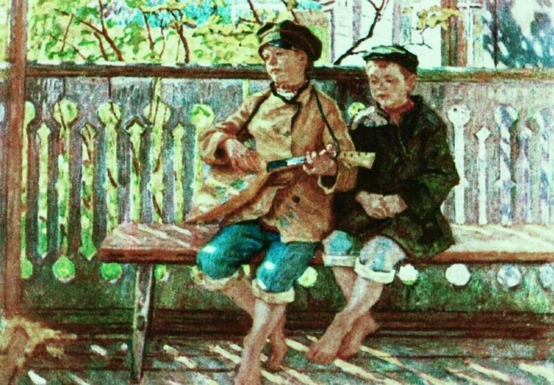 Талант и поклонник. 1910-е МН.jpg