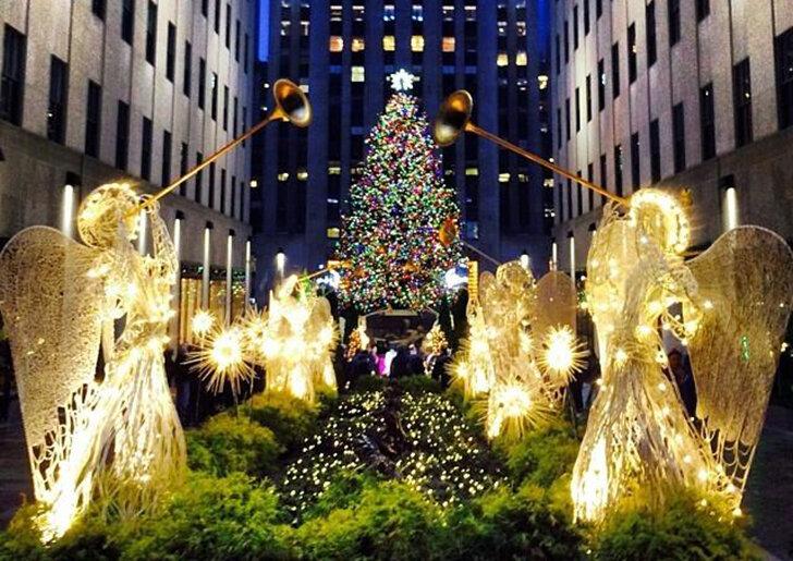 Елка к Рождеству от Рокфеллера