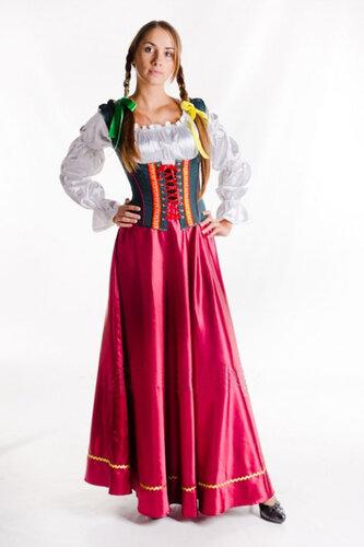 Женский карнавальный костюм Девушка Прованса